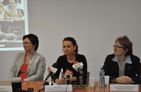 Edyta Gajewska konferencja prasowa 2